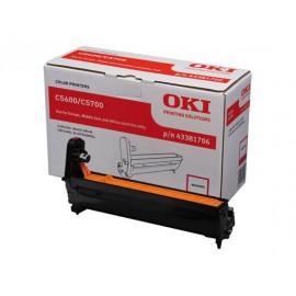 OKI C5600/C5700 Magenta Rumpu 20K