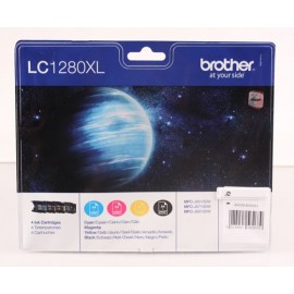 brother lc1280xlvalbp valuepack bk/c/m/y