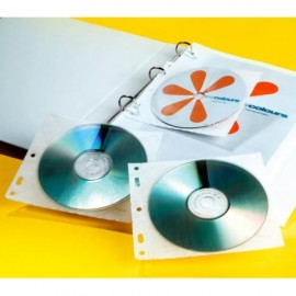 CD-kansiotasku 1:lle levylle Durable /10kpl (pkt)