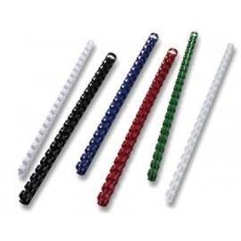 muovikierre 10 mm valkoinen 65 sivua,  100 kpl/ltk