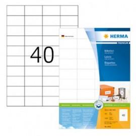 Herma 4461 Monikäyttötarra 52,5x29,7mm 40-jak. /4000