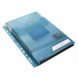 Paljetasku A4 200my Leitz CombiFile Sininen