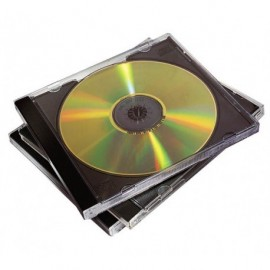 Fellowes cd/dvd jewelcase /10