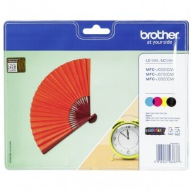 Brother LC-129XL ValuePack Bk, C, M ja Y mustepatruunat