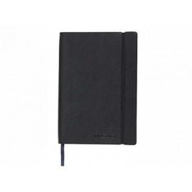 Muistikirja A5 120-sivua musta keinonahka
