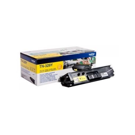 Brother TN-329 Laserkasetti Yellow 6000 sivua