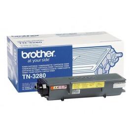 Brother TN-3280 Laserkasetti musta 8K