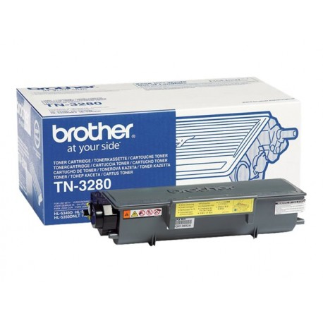Brother TN-3280 Laserkasetti musta 8K