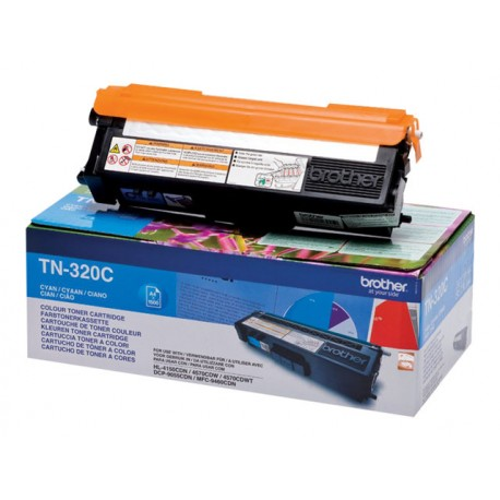 Brother TN-320C Laserkasetti cyan 1.5k