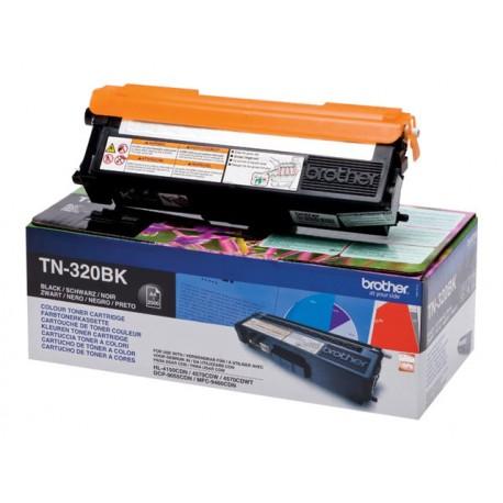 Brother TN-320BK Laserkasetti musta 2.5k