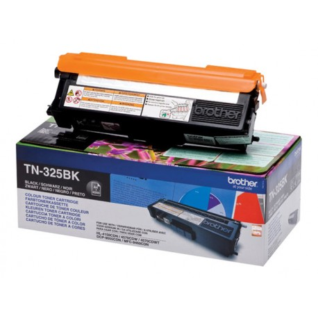 Brother TN-325BK Laserkasetti musta 4k