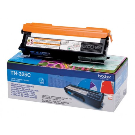 Brother TN-325C Laserkasetti cyan 3.5k