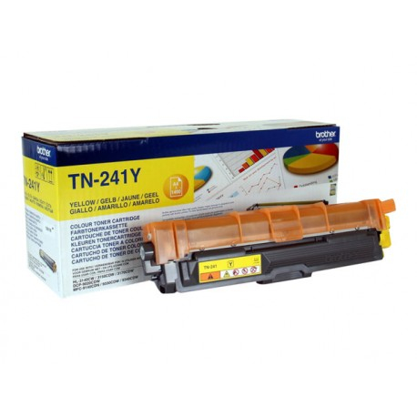 Brother TN-241Y Laserkasetti yellow 1,4k