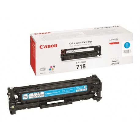Canon 718C Laserkasetti cyan 2,9k