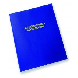 Ajopäiväkirja 187 A5 32s 2-kielinen Karistopap