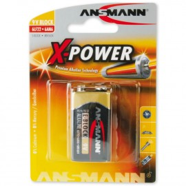 Paristo 6LR61 Ansmann  X-Power 9V
