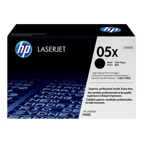 HP CE505X 05X Laserkasetti musta 6,5k