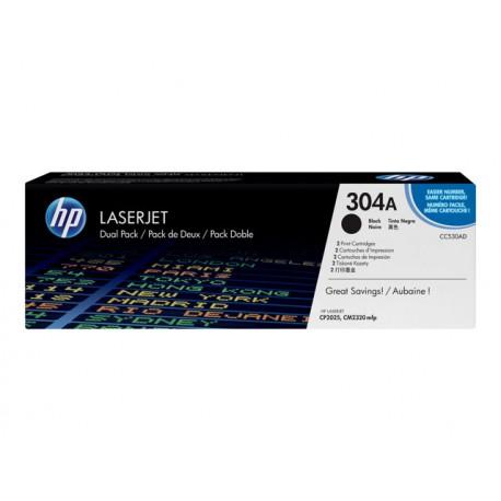 HP CC530AD 304A Laserkasetti musta 2x3,5k