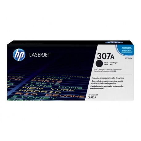 HP CE740A 307A Laserkasetti musta 7k