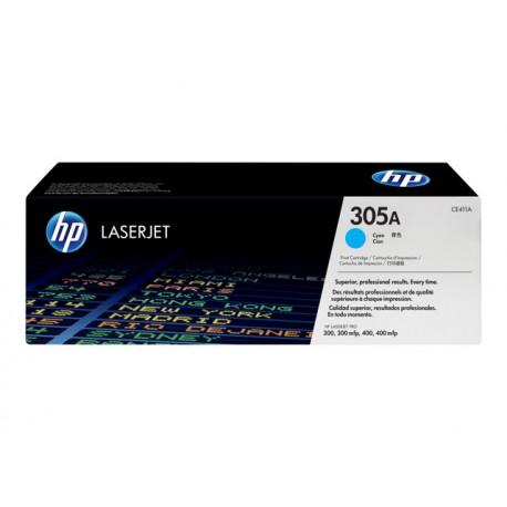 HP CE411A 305A Laserkasetti cyan 2,6k