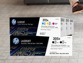 HP tupla/triplapakkaus kampanja